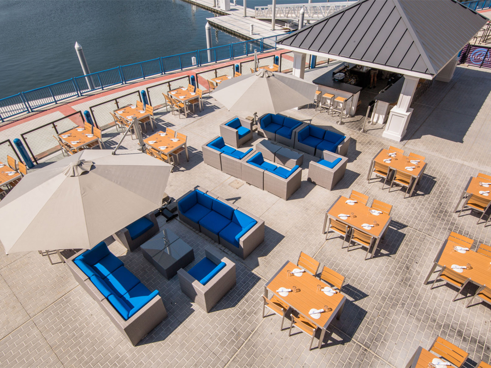 Boca Oyster Bar's Waterfront Patio Open for Service on May 20th!